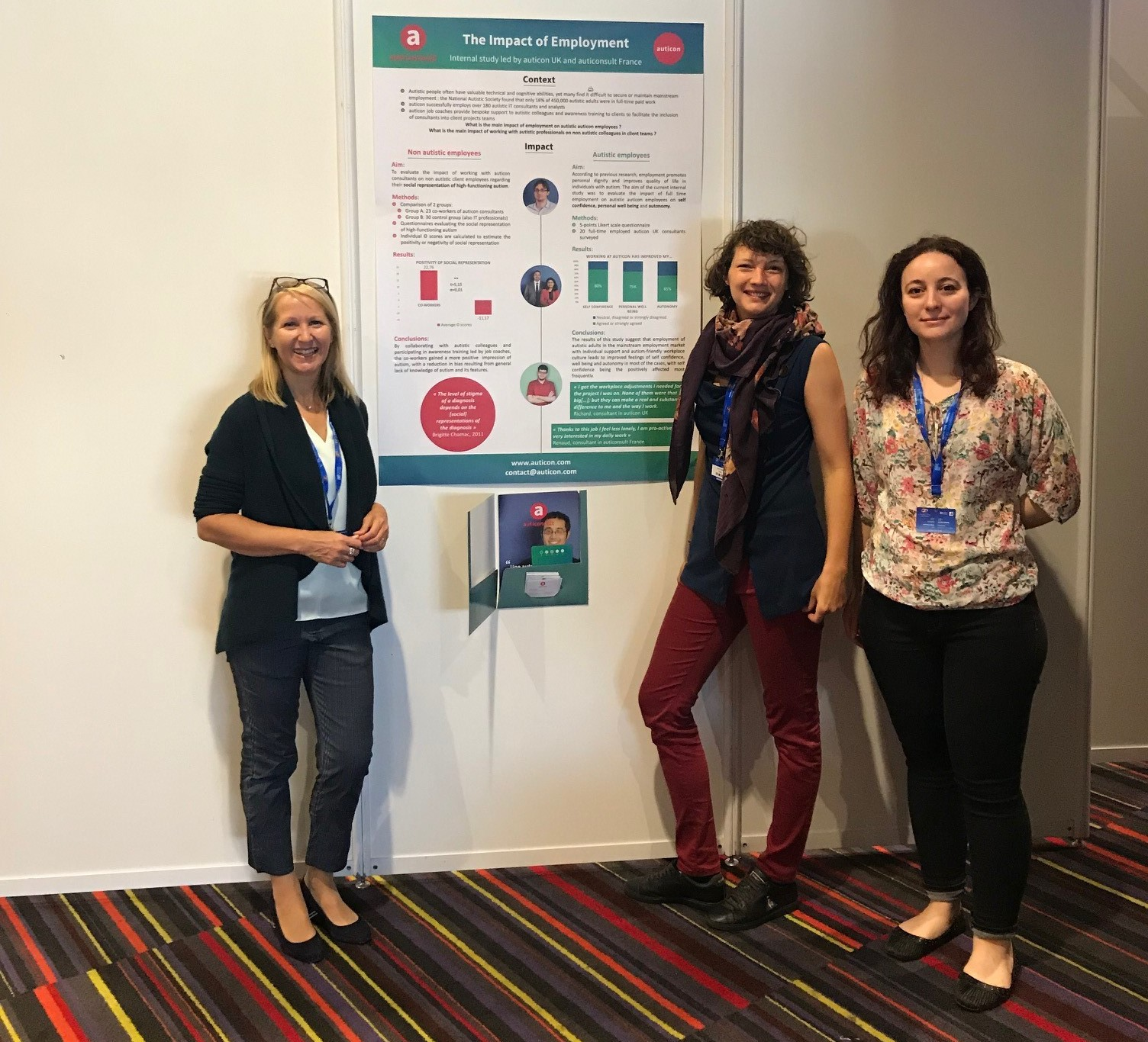 Participation d'auticon au congrès autisme europe 2019